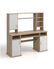 Duże biurko z nadstawką młodzieżowe Cleos w sklepie Dedekor.pl
