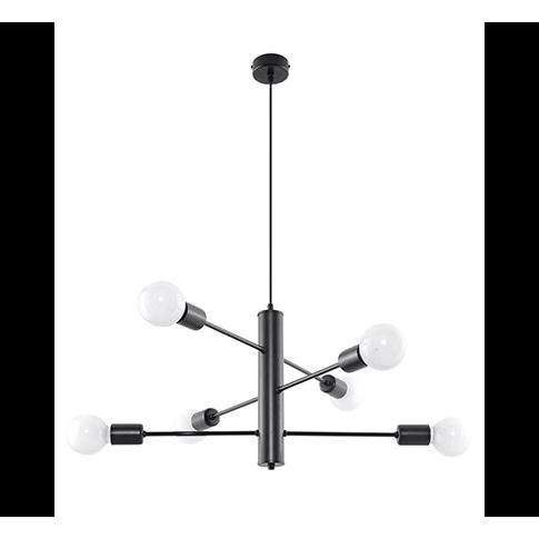 Nowoczesna Lampa Wiszaca Czarna Loft Metal Lampy Wiszace