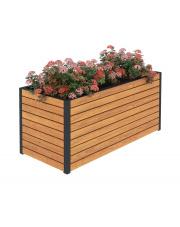 Duża donica miejska na kwiaty