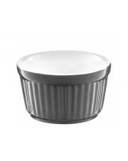 Forma ceramiczna do zapiekania ramekin szara w sklepie Dedekor.pl