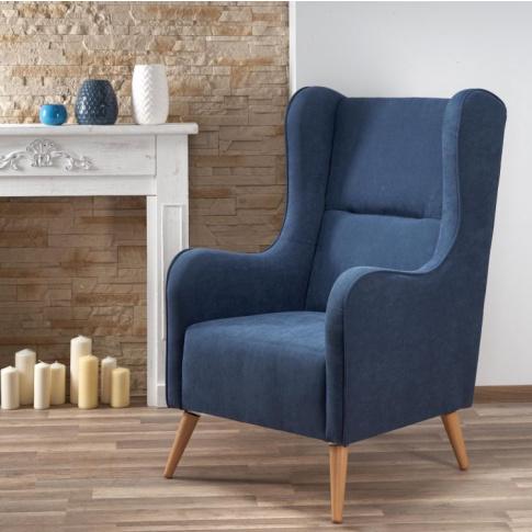 Designerski fotel CHESTER w stylu vintage w sklepie Dedekor.pl