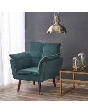 Designerski fotel REZZO w stylu vintage  w sklepie Dedekor.pl