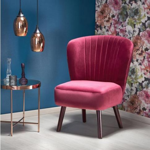 Relaksacyjny fotel LANISTER w stylu retro w sklepie Dedekor.pl