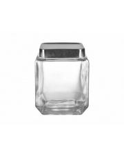 Przeźroczysty pojemnik szklany z pokrywą 1,25l w sklepie Dedekor.pl