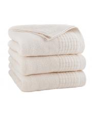 Ręcznik z bawełny PAULO 70 x 140 cm ECRU w sklepie Dedekor.pl