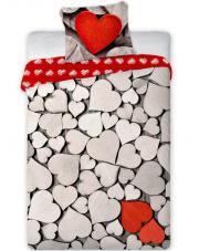 Bawełniana Pościel Walentynki Amore 003 w sklepie Dedekor.pl