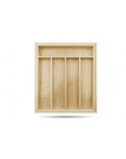 Bambusowy wkład na sztućce rozsuwany 40cm w sklepie Dedekor.pl