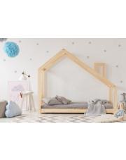 Łóżko dziecięce domek z kominem w sklepie Dedekor.pl