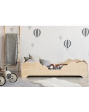 Łóżko drewniane dziecięce chmurka 2 w sklepie Dedekor.pl