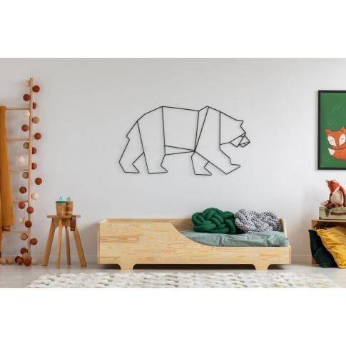 Łóżko drewniane dziecięce bob  w sklepie Dedekor.pl