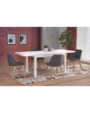 Stół rozkładany biały 140x80cm  w sklepie Dedekor.pl