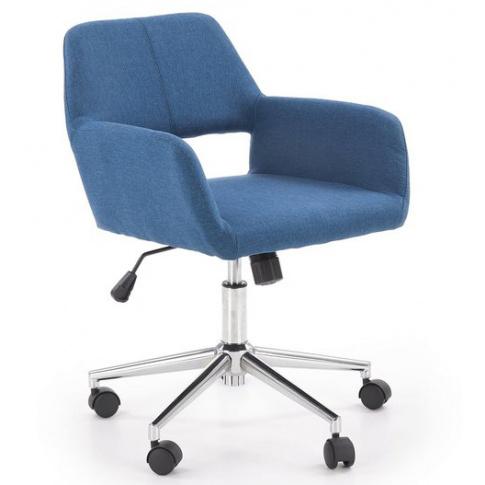 Fotel obrotowy niebieski Morel w sklepie Dedekor.pl