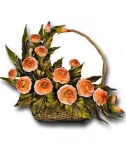 Kosz z kwiatami 33KO