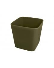 Donica ceramiczna zielona 19 cm