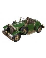 Metalowy model samochodu zielony 33x15x13,5