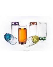 Szklanki z kolorowym dnem Glasmark 350ml