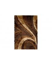 Dywan Shaggy Polyester brown 70X130cm