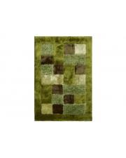 Dywan Shaggy Polyester green 70X130cm