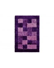 Dywan Shaggy Polyester purple 70X130cm