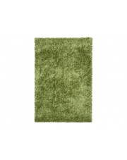 Zielony Dywan Shaggy Polyester 110/170cm
