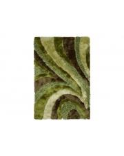 Dywan Shaggy Polyester green 110/170cm