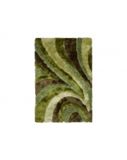 Dywan Shaggy Polyester green 110/170cm w sklepie Dedekor.pl