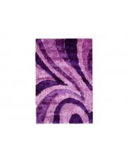 Dywan Shaggy Polyester purple 110/170cm