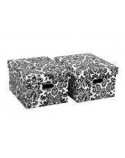 Pudełko Roma czarne 18.5cm