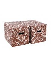 Pudełka czerwone Roma 33 cm
