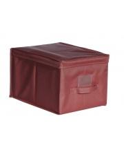Pudło polyester York czerwone 25cm