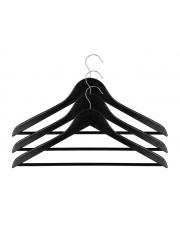 Wieszaki ubraniowe czarne 3szt.