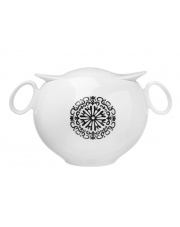Nowoczesna waza do zup Quebec Ika porcelanowa 3,4l w sklepie Dedekor.pl