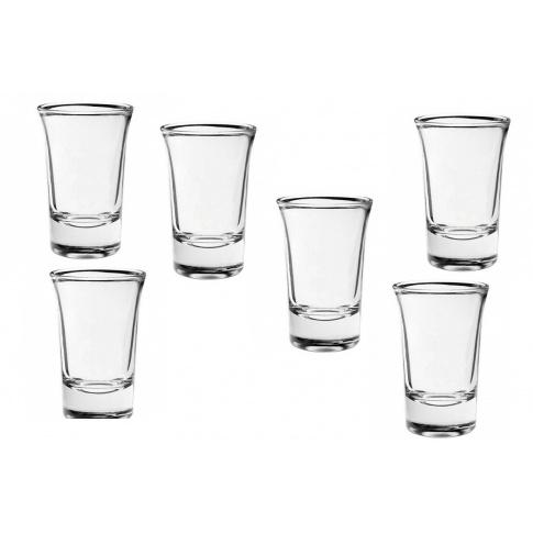 Komplet 6 kieliszków do wódki Torino 40ml w sklepie Dedekor.pl
