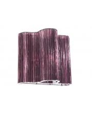 Szklany kinkiet Ferra Purple fioletowy w sklepie Dedekor.pl