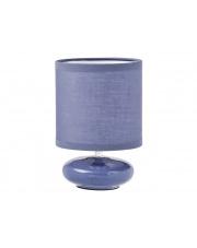 Ozdobna lampa stołowa Violet fioletowa w sklepie Dedekor.pl
