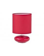 Okrągła stołowa lampa Red czerwona w sklepie Dedekor.pl