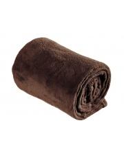 Koc dekoracyjny brązowy 130x160 cm