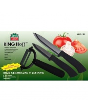 Noże ceramiczne + obierak w zestawie KH 5158 w sklepie Dedekor.pl