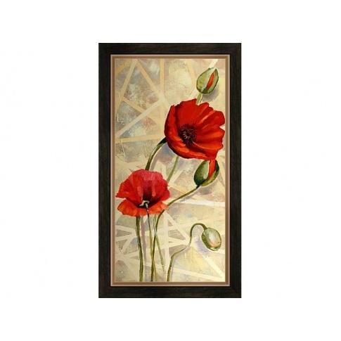 Pionowy obraz Maki 56x106 w sklepie Dedekor.pl