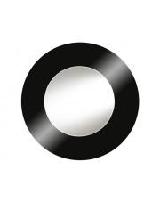 Nowoczesne lustro okrągłe czarna rama 100x100 w sklepie Dedekor.pl