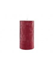 Zapachowa świeca dekoracyjna Rustic 7,5x15 walec duży, porzeczka