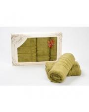 Komplet Ręczników Oliwkowych Extra Soft 590GSM  w sklepie Dedekor.pl