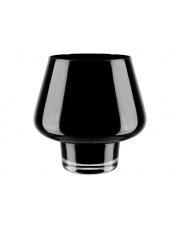 Dekoracyjny szklany świecznik czarny wys.18 w sklepie Dedekor.pl