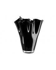 Dekoracyjny wazon szklany czarny wys.25 w sklepie Dedekor.pl