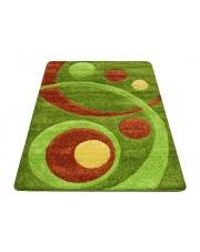 Miękki dywan Curved Shaggy 80x150 prostokątny