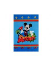 Niebieski dywan Mickey Club House 100x150 akryl w sklepie Dedekor.pl