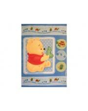 Bajkowy dywan akrylowy Baby 140x200 Kubuś Puchatek