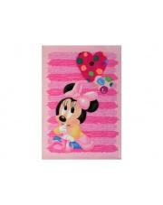 Dziewczęcy dywan akrylowy Baby 140x200 Myszka Miki różowy w sklepie Dedekor.pl