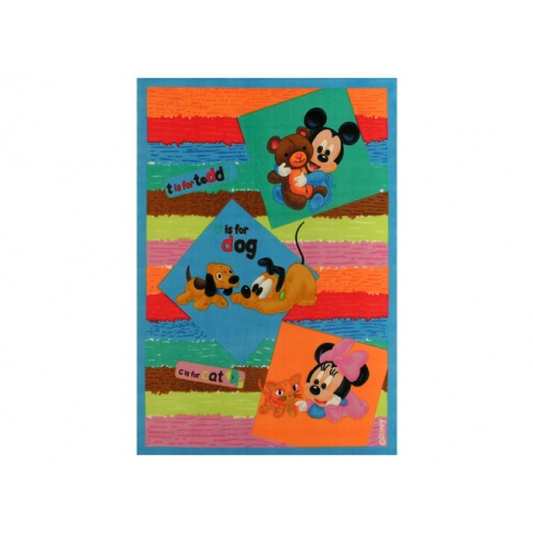 Dziecięcy dywan Baby Disney 140x200 akrylowy w sklepie Dedekor.pl