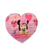 Różowy dywan akrylowy 154x160 kształt serca w sklepie Dedekor.pl
